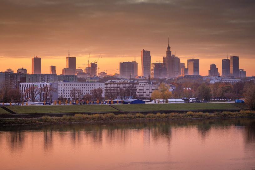 Widok na panoramę Warszawy; zdj. ilustracyjne /ARKADIUSZ ZIOLEK/East News /East News