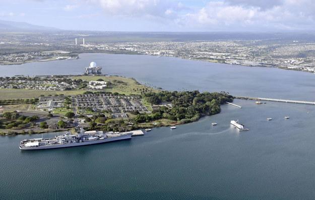 Widok na Pearl Harbor /PAP/Newscom