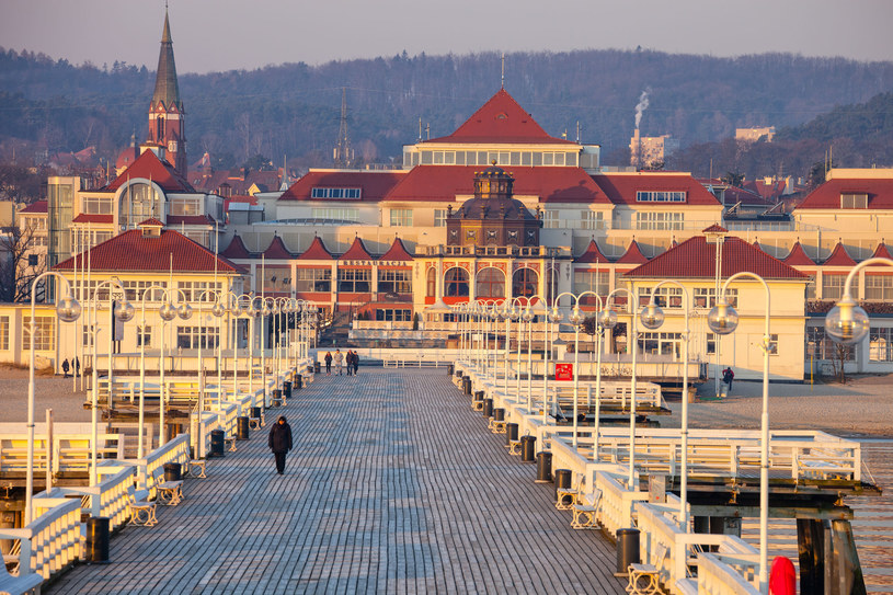 Widok na Sopot z molo; zdj. ilustracyjne /123RF/PICSEL