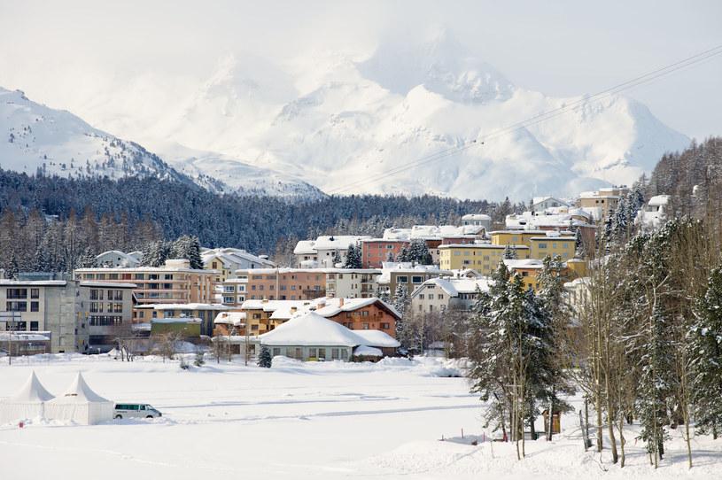 Widok na St. Moritz /123RF/PICSEL