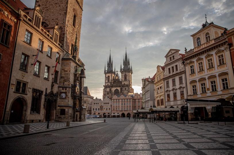 Widok na Stare Miasto w Pradze /Martin Divisek /PAP/EPA