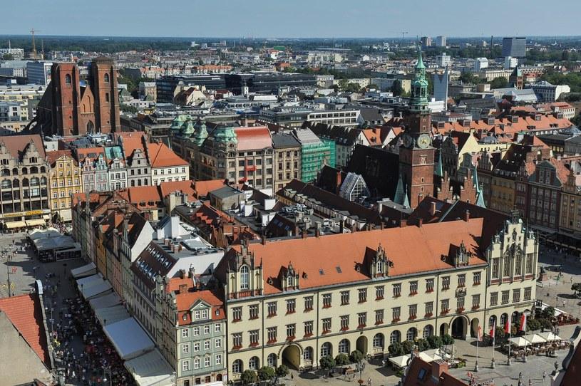 Widok na Wrocław; zdj. ilustracyjne /Gerard /Reporter