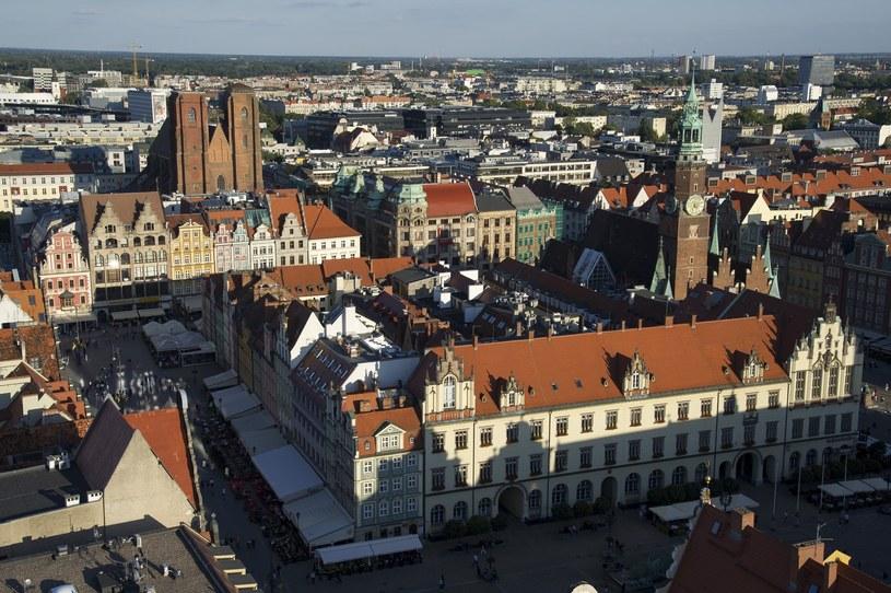 Widok na Wrocław, zdjęcie ilustracyjne /Wojciech Stróżyk /Reporter