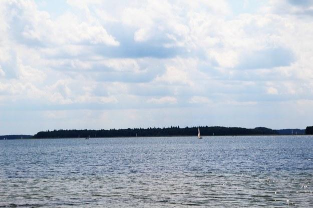 Widok na wyspę Upałty /Piotr Bułakowski, RMF FM /RMF FM