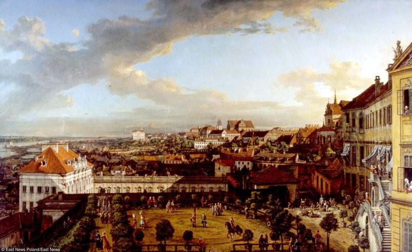 Widok Warszawy z tarasu Zamku Królewskiego /East News
