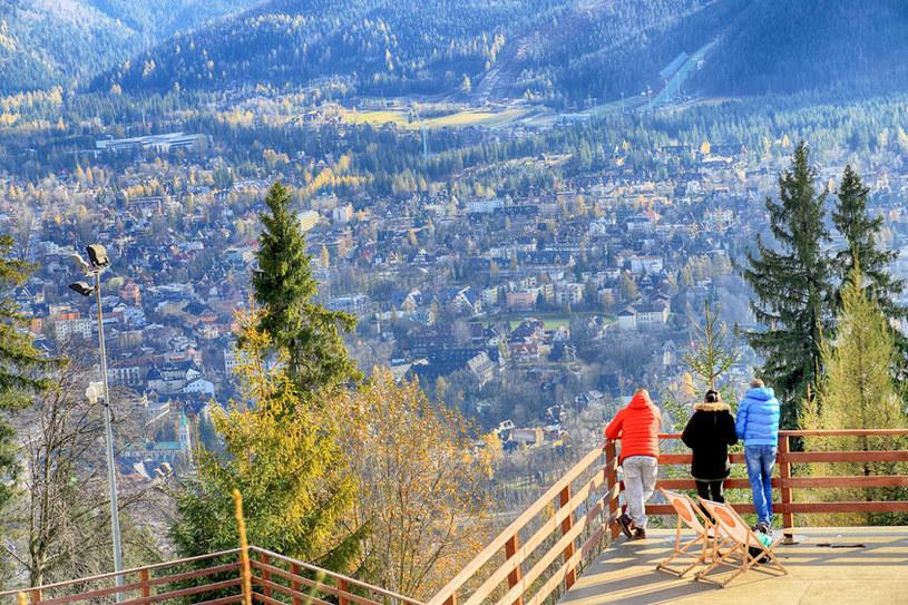 Widok z Gubałówki na Zakopane /©123RF/PICSEL