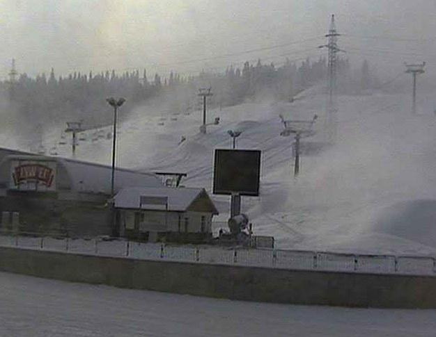 Widok z kamerki w stacji narciarskiej Kotelnica w Białce Tatrzańskie /kamerynastokach.com.pl /