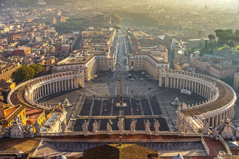 Widok z kopuły Bazyliki św. Piotra /123RF/PICSEL