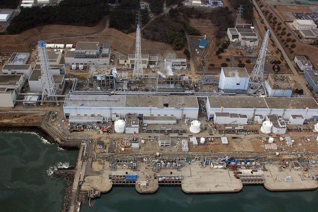 Widok z lotu ptaka na elektrownię Fukushima /AFP