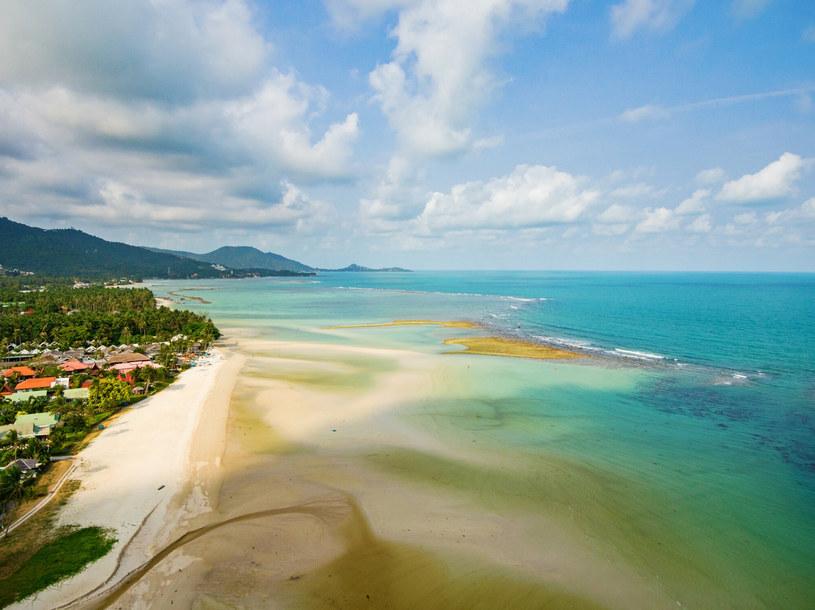 Widok z lotu ptaka na Zatokę Tajlandzką. /LUKASZ SZCZEPANSKI/REPORTER /East News