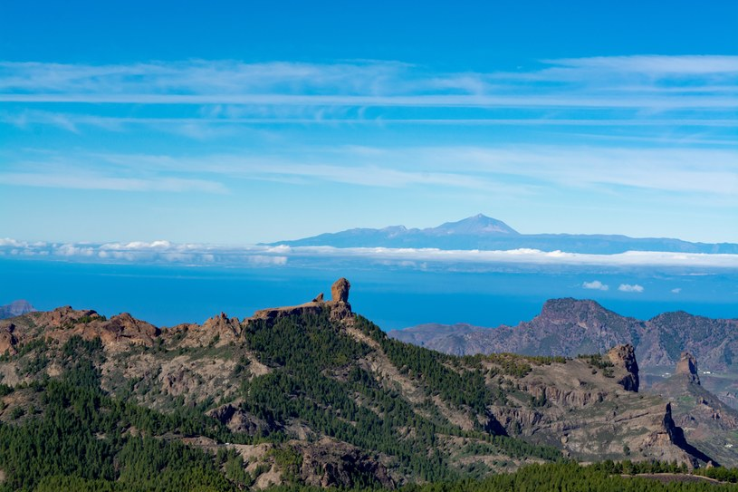 Widok z najwyższego szczytu Pico de Las Nieves /123RF/PICSEL