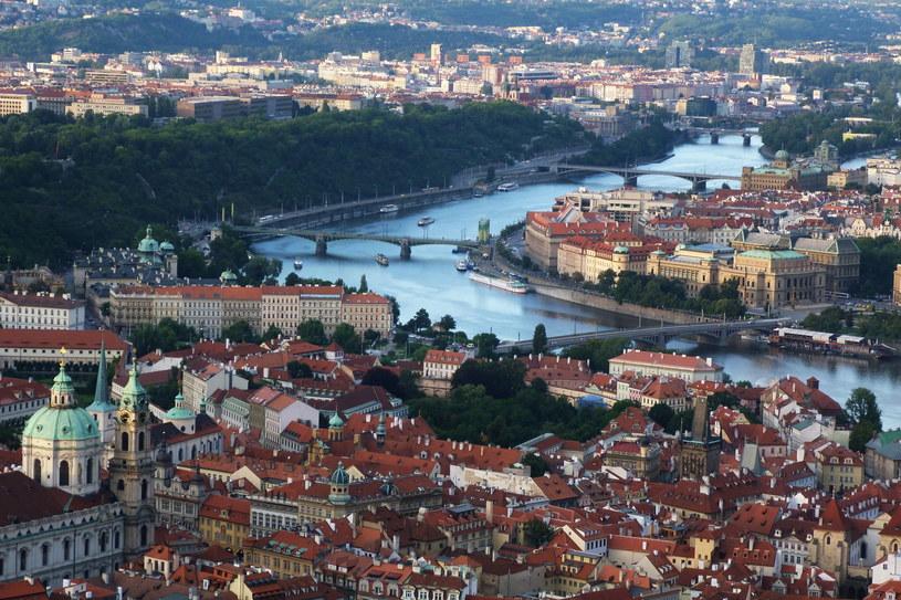 Widok z wieży na Petrin /©123RF/PICSEL