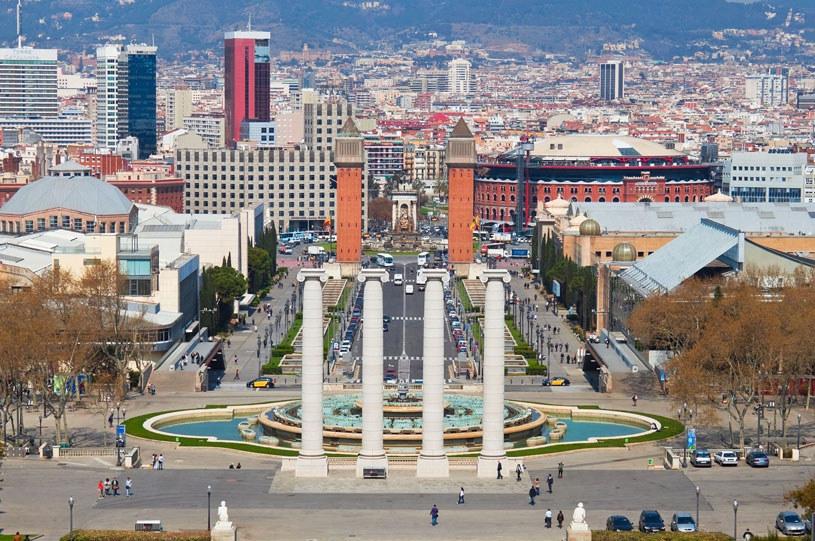 Widok ze wzgórza Montjuïc /123RF/PICSEL