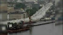 Widowiskowe wyburzenie wiaduktu