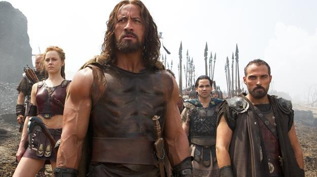 Widownia musi uwierzyć w postać Herkulesa - przekonuje Dwayne Johnson /materiały dystrybutora