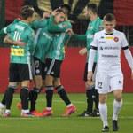 Widzew Łódź - Legia Warszawa 0-1 w meczu 1/16 finału Pucharu Polski