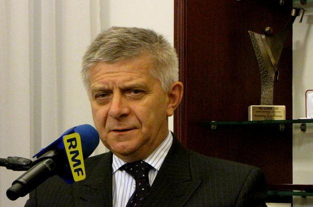 Widzimy zalety unii bankowej twierdzi prezes Belka /RMF FM