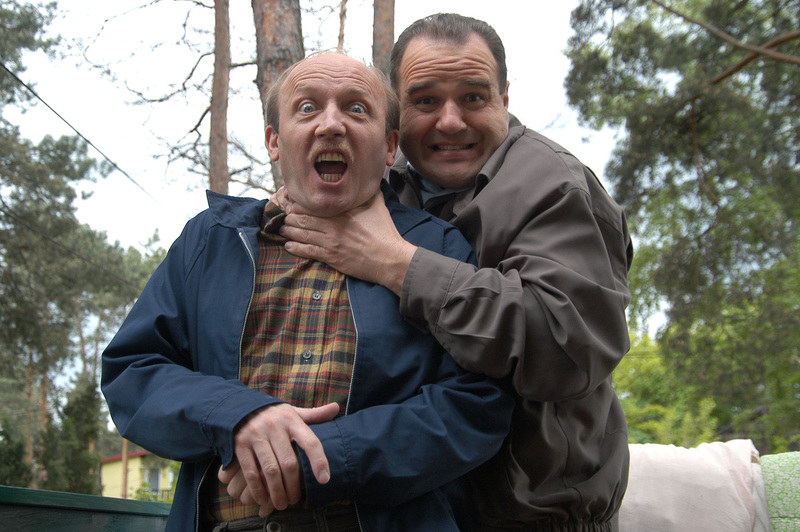 Widzowie oszaleli na punkcie duetu Norek-Krawczyk (Cezary Żak). – To serial, który nadal mogę z przyjemnością oglądać – mówi Barciś. /Prończyk /AKPA