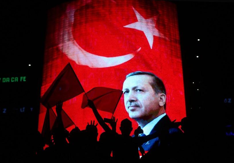 Wiec poparcia dla prezydenta Recepa Erdogana, zorganizowany po próbie zamachu stanu /aa /East News
