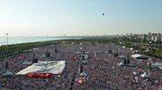 Wiec setek tysięcy przeciwników rządu w Stambule