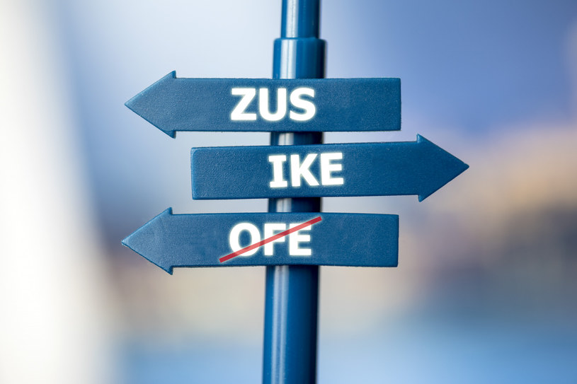 Więcej osób wybierze ZUS zamiast IKE /Arkadiusz Ziółek /East News