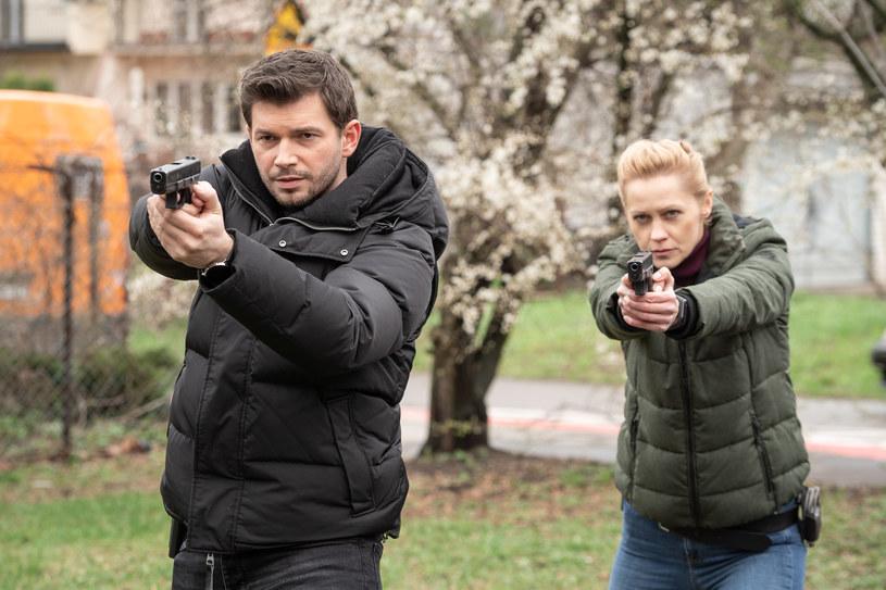 """Więcej policyjnych akcji zobaczycie w """"Gliniarzach"""" /Polsat"""
