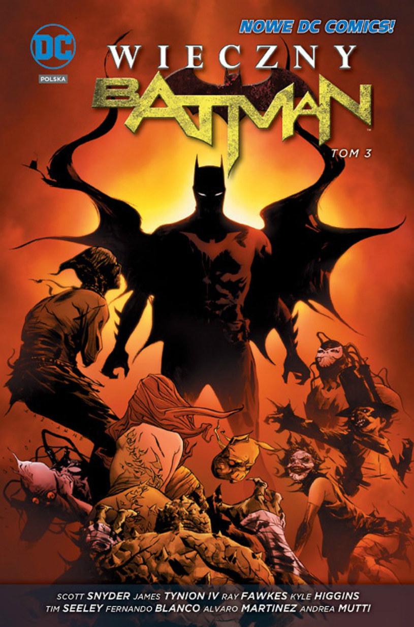 Wieczny Batman - tom 3. /materiały prasowe