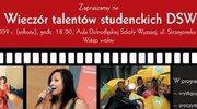 Wieczór talentów studenckich w DSW