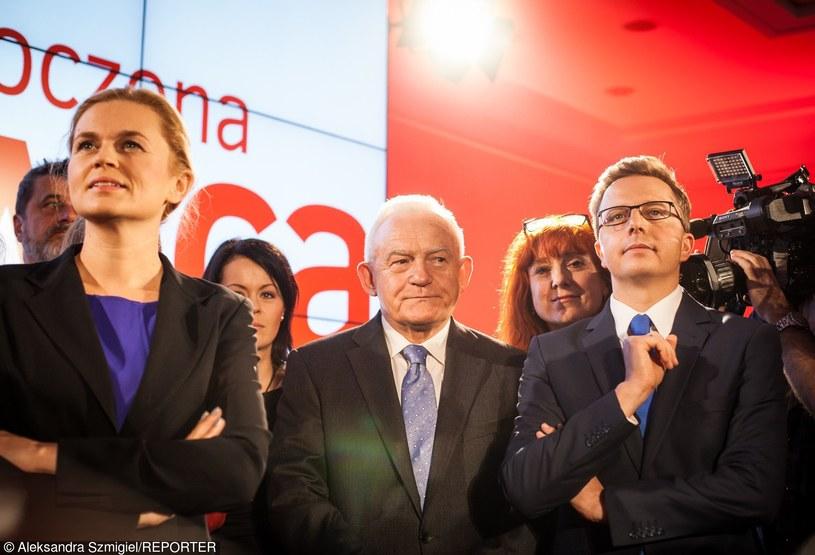 Wieczór wyborczy 2015 w sztabie ZL /Aleksandra Szmigiel /Reporter