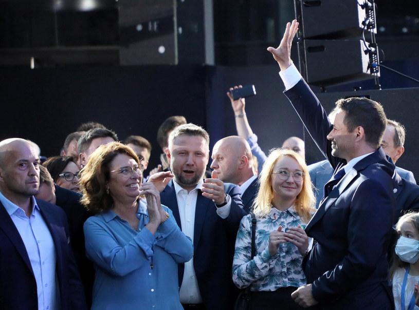 Wieczór wyborczy Rafała Trzaskowskiego / Jakub Kamiński    /East News
