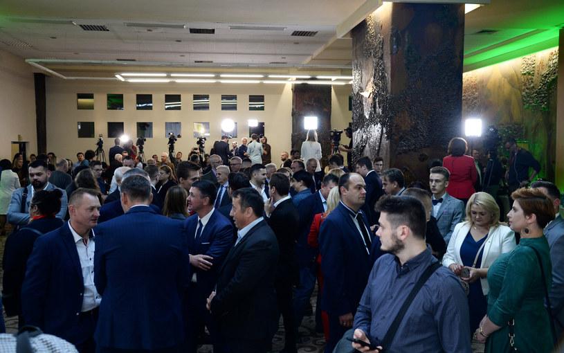 Wieczór wyborczy w sztabie PSL /Mateusz Jagielski /East News