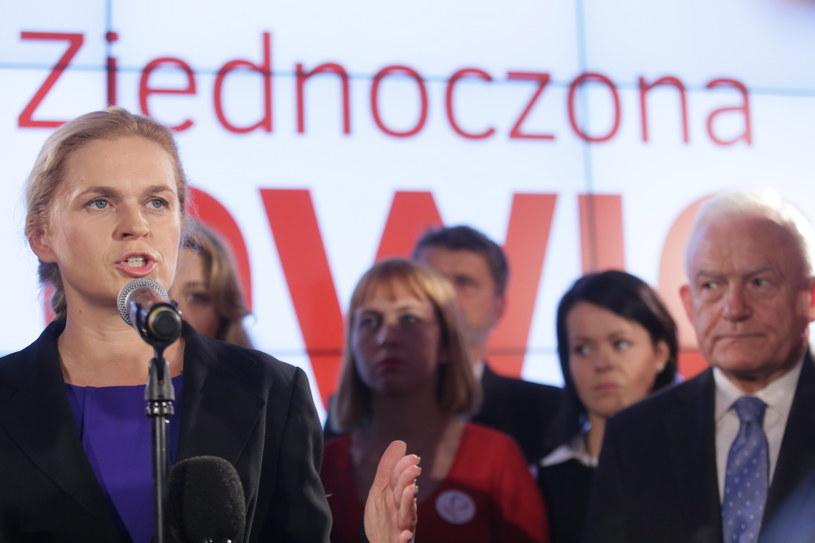 Wieczór wyborczy w sztabie Zjednoczonej Lewicy /Leszek Szymański /PAP