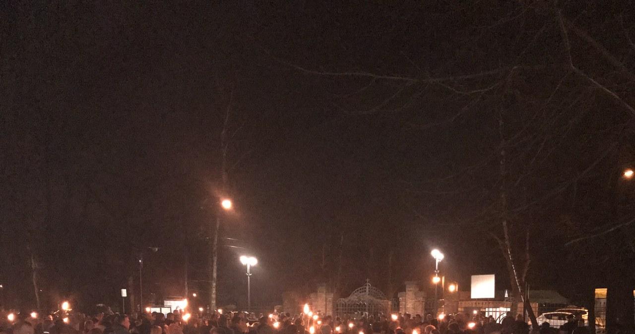 Wieczorna Droga Krzyżowa w Katowicach