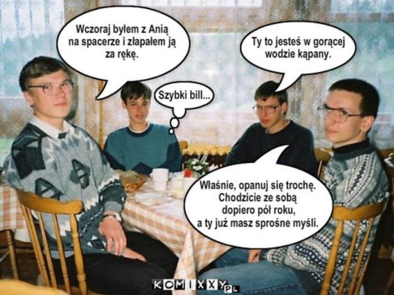 Wiedzieliście, że bohaterowie tego mema to Polacy? /Komixxy.pl /Internet