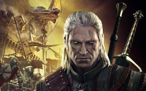 Wiedźmin 2: Zabójcy Królów - fragment konsolowej okładki gry - całą wersję zobaczycie w newsie /Informacja prasowa