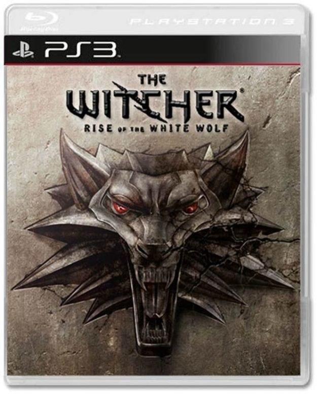 Wiedźmin: Powrót Białego Wilka - sugerowana okładka wersji na PS3 /Informacja prasowa
