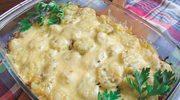 Wiejska zapiekanka z ziemniakami, kapustą i boczkiem
