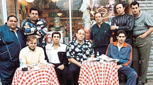 Większość aktorów, grających członków gangu DiMeo, miała włoskie korzenie /materiały prasowe