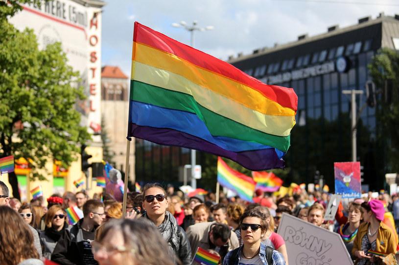 Większość badanych w sondażu jest przeciwna adopcji dzieci przez pary homoseksualne /Piotr Matusewicz /East News