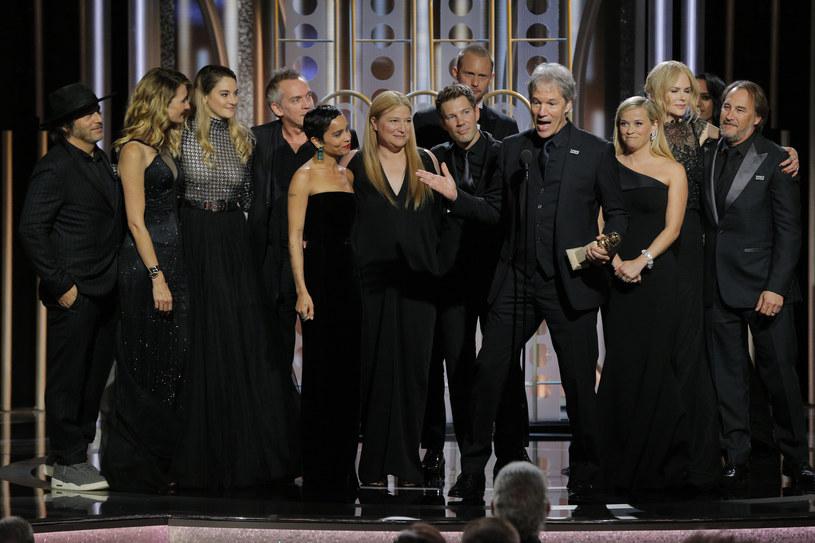 Większość gwiazd ubrało się na czarno /Handout /Getty Images