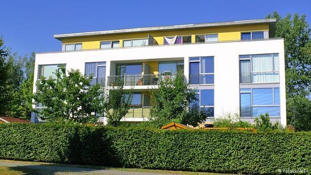 Większość Niemców woli mieszkać w czynszowych mieszkaniach i domach /Deutsche Welle