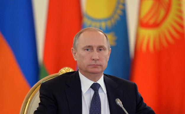 """""""Większość odpowiedzialności za niestabilność ponosi Władimir Putin"""" fot. Alexey Druzhinin /AFP"""
