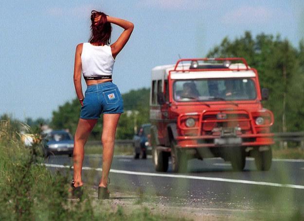 Większość prostytutek w Polsce ma około 30 lat... /Herok/Newsweek Polska/REPORTER /East News
