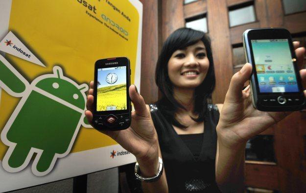 Większość wirusów dla Androida pochodzi z Chin /AFP