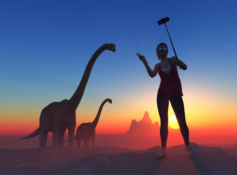 Wiele dinozaurów przeżyłoby prawdopodobnie wyłącznie w rezerwatach /123RF/PICSEL