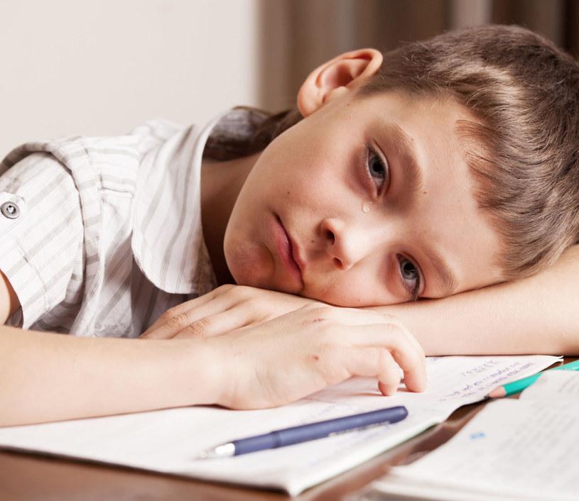 Wiele dzieci odczuwa silny lęk przed koronawirusem /123RF/PICSEL