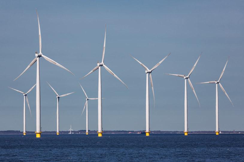 Wiele firm zainteresowanych pozyskiwaniem energii wiatrowej nad Bałtykiem. Fot. T.W. Van Urk /123RF/PICSEL