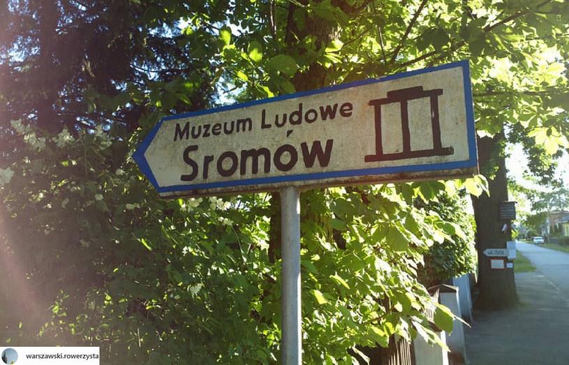 Wiele miejsc o zabawnych nazwach ma do zaoferowania również ciekawe miejsca /@warszawski.rowerzysta /Instagram