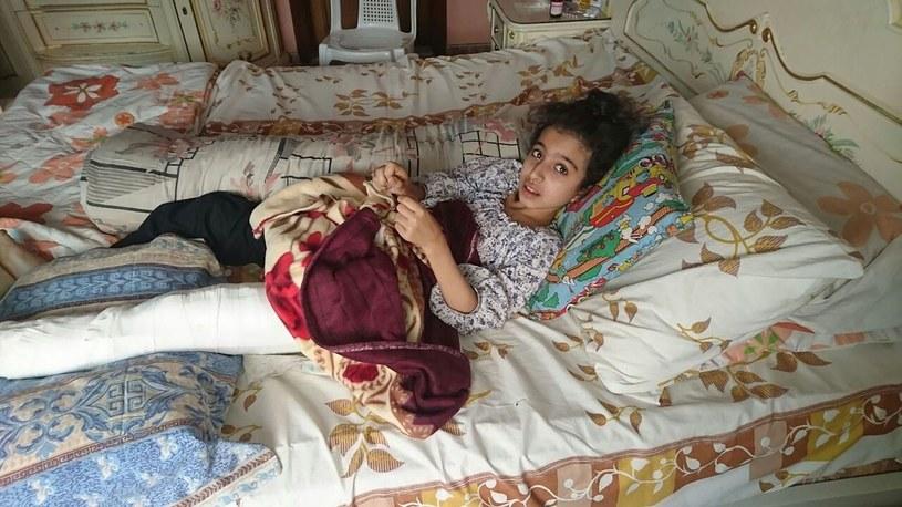 """""""Wiele osób próbowało uciekać z Madai. Zginęli albo natrafili na minę i stracili nogę"""" /AFP"""