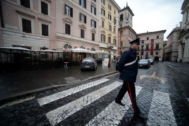 Wielka akcja włoskiej policji fot. Filippo Monteforte /AFP